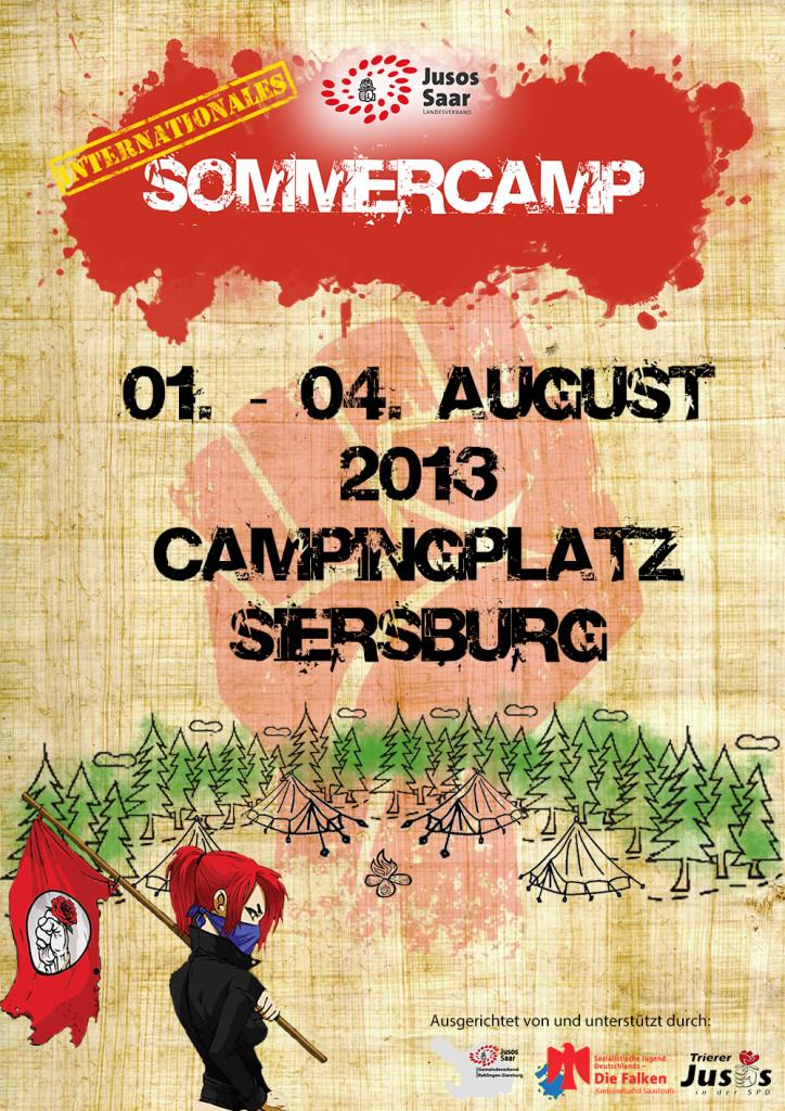 Plakat Sommercamp 2013